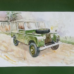 Online, Art, Art Gallery, Online Art Galley, Sri Lanka, Karunagama, Watercolor, Water Colour, Online, Art, Art Gallery, Online Art Galley, Sri Lanka, Karunagama, Watercolor, Water Colour, Land Rover, Land Rover Jeep, Jeep Paintigs, Classic Jeeps, , Sri lanka paintings,