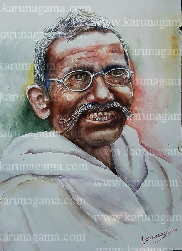 Image of: Old Woman Online Art Art Gallery Online Art Galley Sri Lanka Karunagama Karunagama Art Gallery Portrait Of An Old Person Karunagama Art Gallery