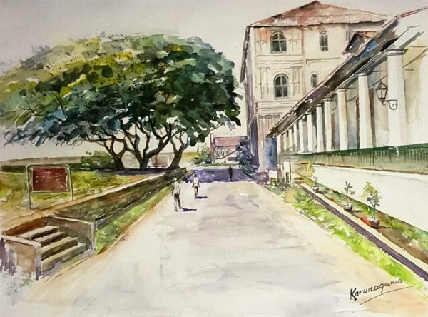Online, Art, Art Gallery, Online Art Galley, Sri Lanka, Karunagama, Watercolor, Water Colour, Galle, Galle fort, Galle town, Sri lanka hotels, Amangalla hotel